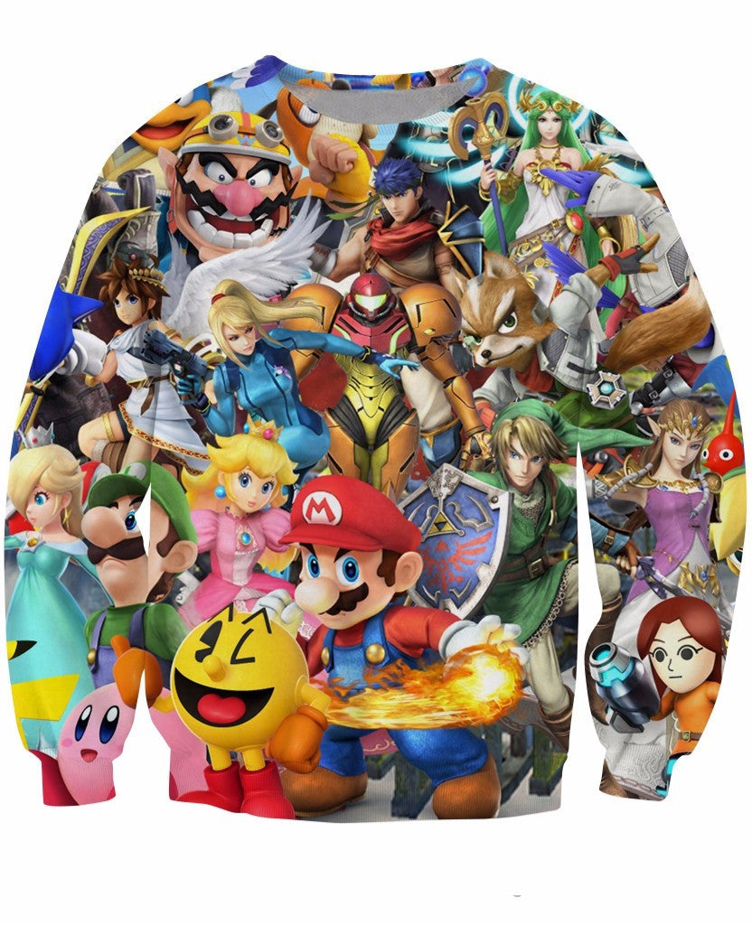 Super Smash Bros Sweatshirt