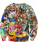Super Smash Bros Sweatshirt - Gamer Treasures