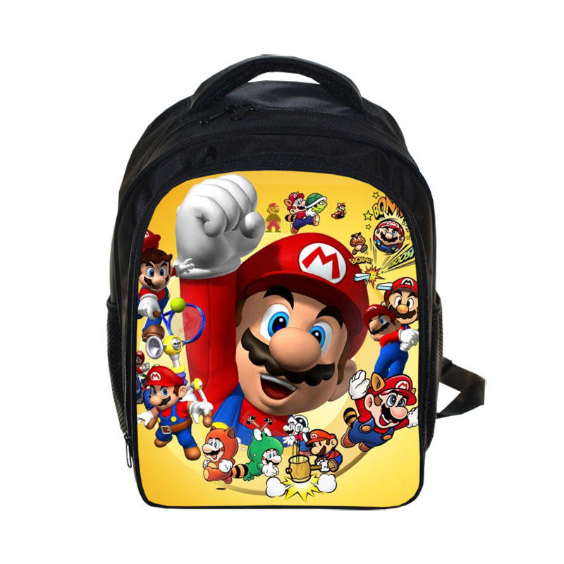 Super Mario Bros Backpacks (5 different variants) - Gamer Treasures