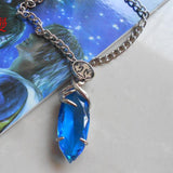 Final Fantasy X  Blue Stone Necklace Pendant - Gamer Treasures