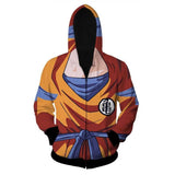 Son Goku's Body 3D Hoodie - Gamer Treasures