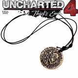 Uncharted 4:  A Thief's End Metal Necklace/Keychain - Gamer Treasures