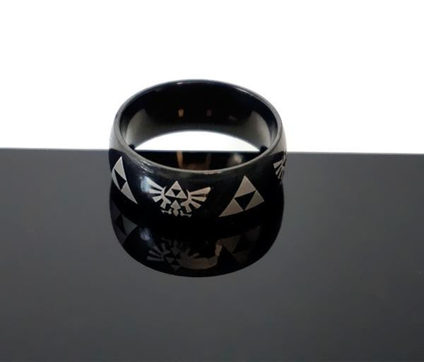 The Legend of Zelda Triforce Ring (3 colors available) - Gamer Treasures