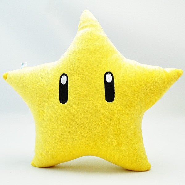 Super Mario Power Star Pillow