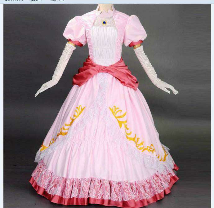 Princess Peach Long Dress - Gamer Treasures