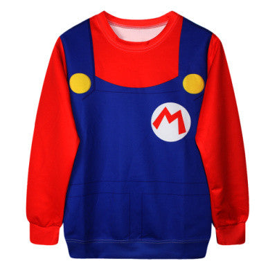 Super Mario 3D Printed Sweatshirt - Gamer Treasures