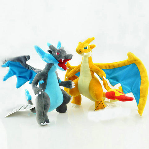 Mega Charizard X/Y Pokemon Plush Toys 25cm/10 inches - Gamer Treasures