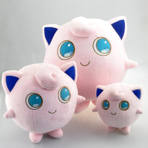 Jigglypuff Pokemon Plush Toys 14cm/24cm/30cm - Gamer Treasures