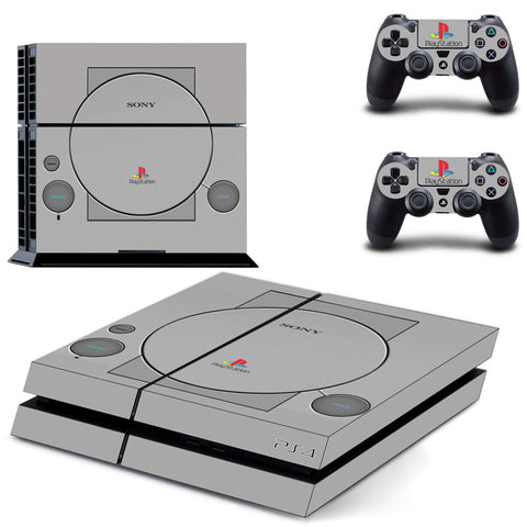 PS1 Style Skin for PS4 Console and Controllers - Gamer Treasures