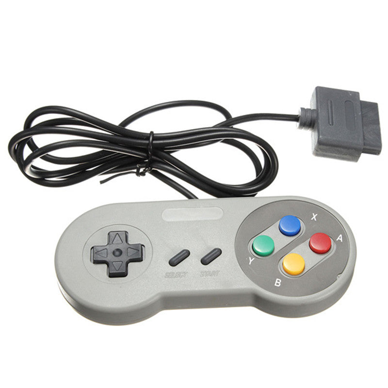 SNES Generic PAL/SFC Style Controller - Gamer Treasures