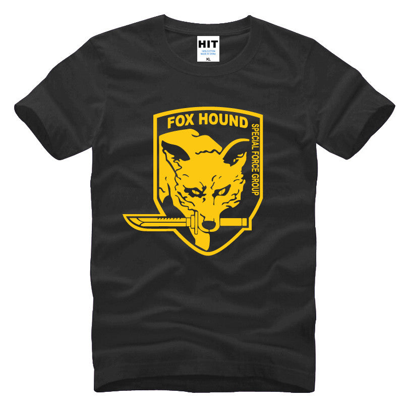 Fox Hound Metal Gear Solid T-shirt - Gamer Treasures