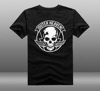 Outer Heaven T-shirt (4 colorways) - Gamer Treasures