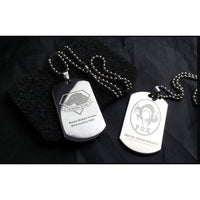 Metal Gear Solid V: The Phantom Pain - Diamond Dogs Pendant Necklace In Box