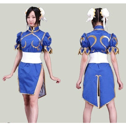 Chun Li Street Fighter Cosplay Costume - Gamer Treasures