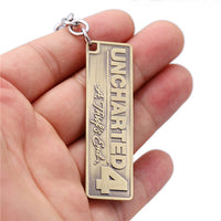 Uncharted 4: A Thief's End Metal Pendant Keyring