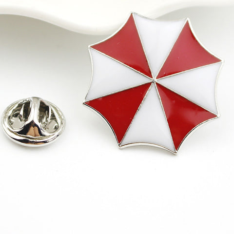 Umbrella Corporation Resident Evil Brooch Pins