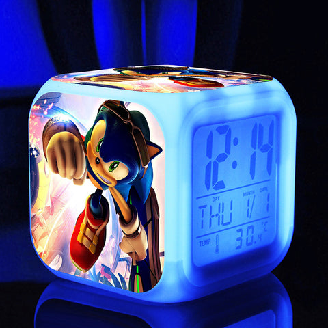 Sonic The Hedgehog LED Alarm Clocks in 7 different variants - Gamer Treasures