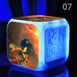 Sonic The Hedgehog LED Alarm Clocks in 7 different variants