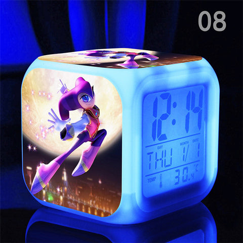 Nights LED Alarm Clock - Gamer Treasures