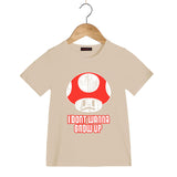 Super Mario Bros Mushroom Kids T-shirt - Gamer Treasures