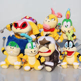 Koopa Plush Super Mario Toy Bundle 7pcs/set 15-20cm/6-8 inches - Gamer Treasures
