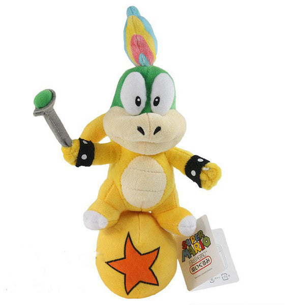 Lemmy Koopa Plush Toy 26cm/10 inches - Gamer Treasures