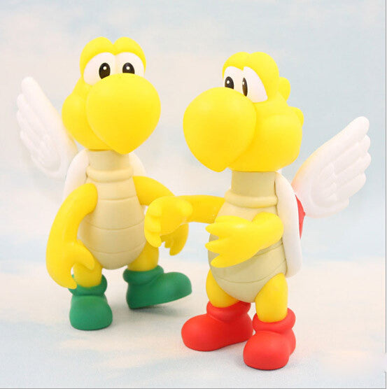 Koopa Paratroopa Super Mario PVC Action Figure 14cm/5.5cm - Gamer Treasures