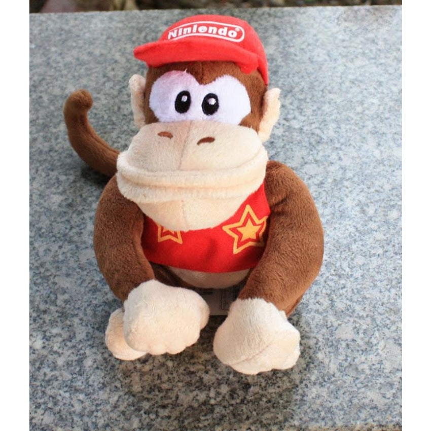 Diddy Kong Plush Toy 20cm/8 inches - Gamer Treasures