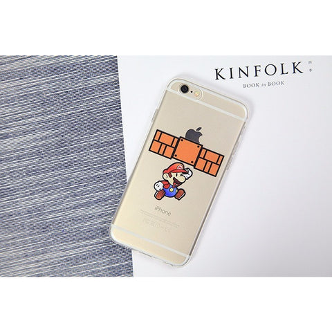 Apple Block Super Mario iPhone Case - Gamer Treasures