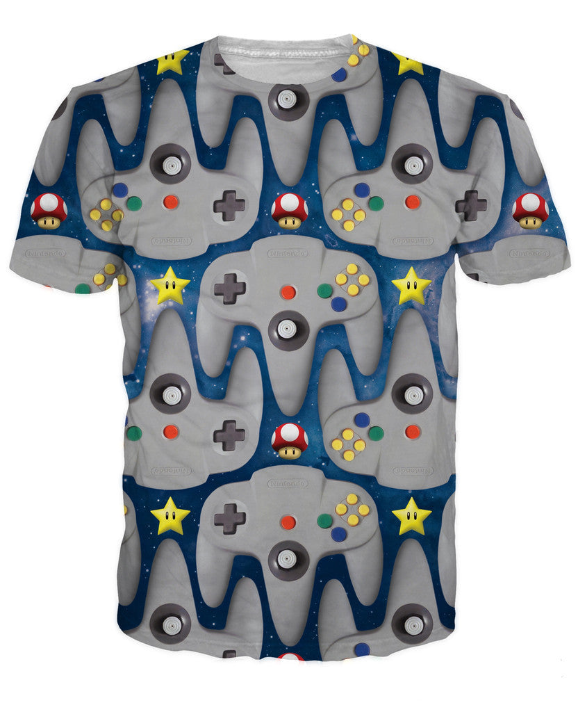 N64 T-shirt - Gamer Treasures
