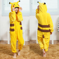 Pikachu Onesie Costume for kids
