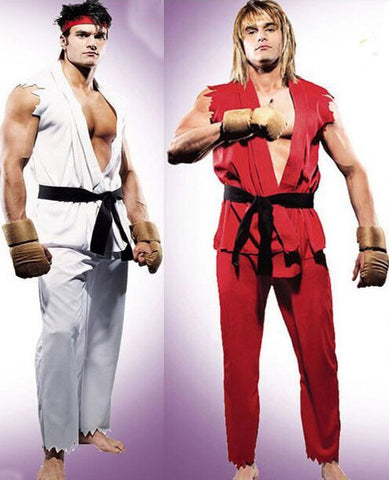 Ryu/Ken Street Fighter Costumes - Gamer Treasures