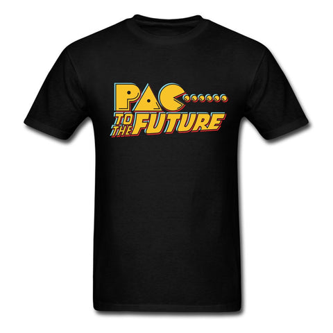 Pac To The Future Pac-Man T-shirt - Gamer Treasures