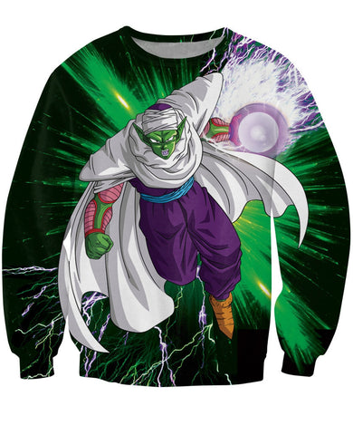 Piccolo Dragon Ball 3D Sweatshirt - Gamer Treasures