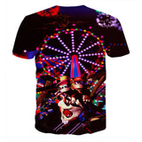 Donkey Kong Country 2: Diddy Kong's Quest Roller Coaster 3D T-shirt - Gamer Treasures