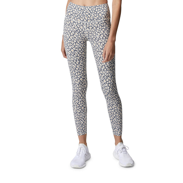 Varley Century Leggings in Lead Cheetah