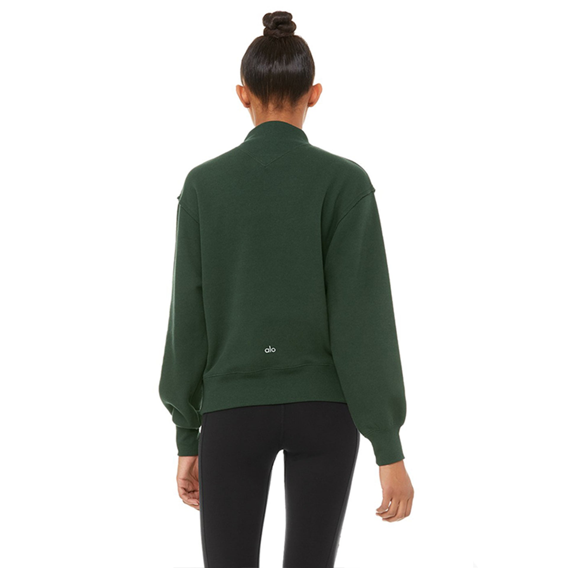 Alo Yoga Freestyle Sweatshirt in Forest