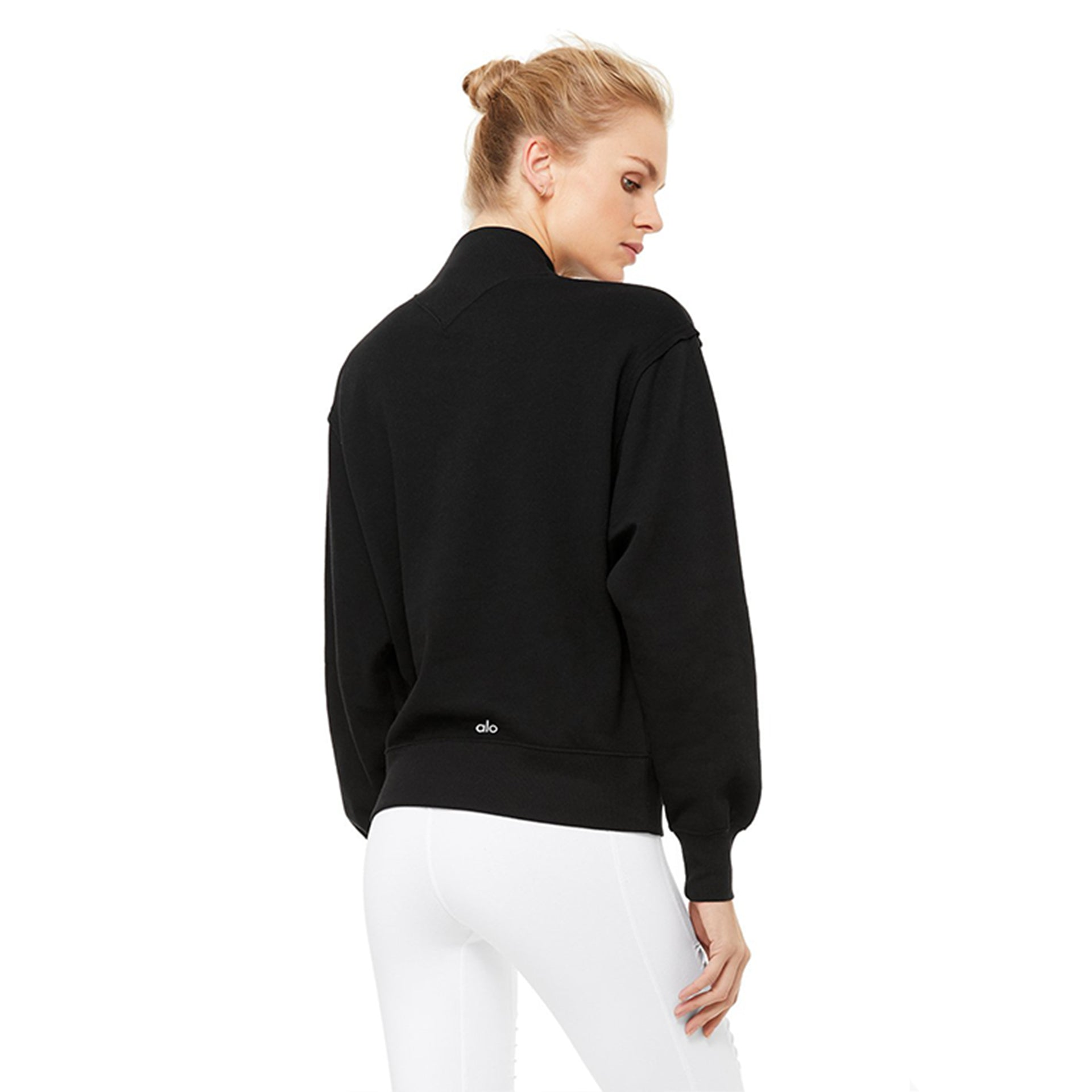 Alo Yoga Freestyle Sweatshirt in Black