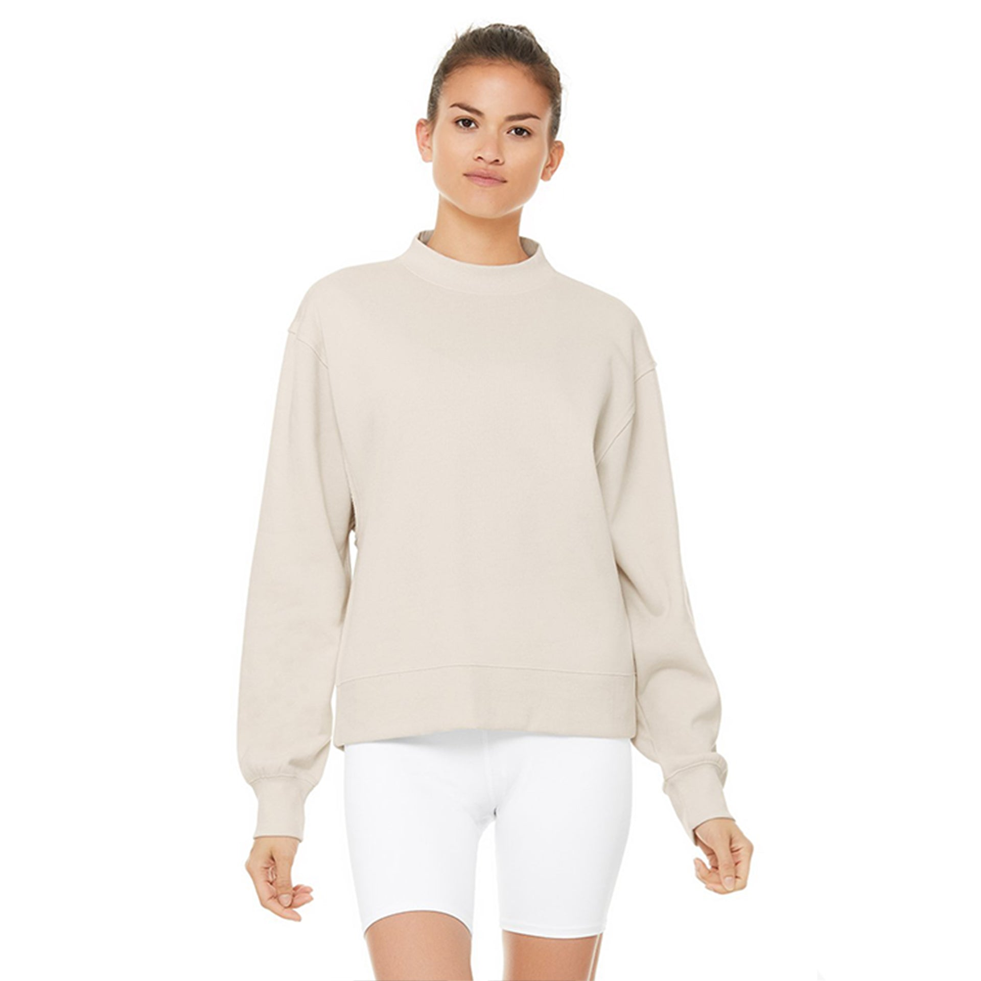 Alo Yoga Freestyle Sweatshirt in Bone