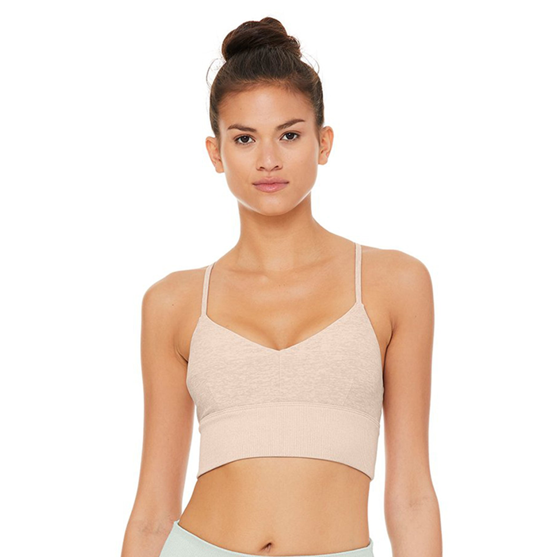Alosoft Lavish Bra in Nectar Heather