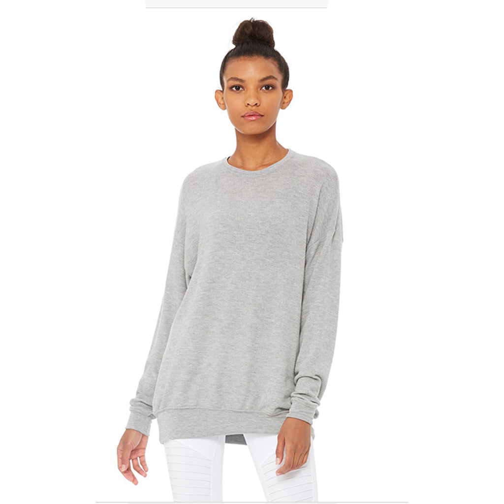 Alo Yoga Soho Pullover in Dove Grey
