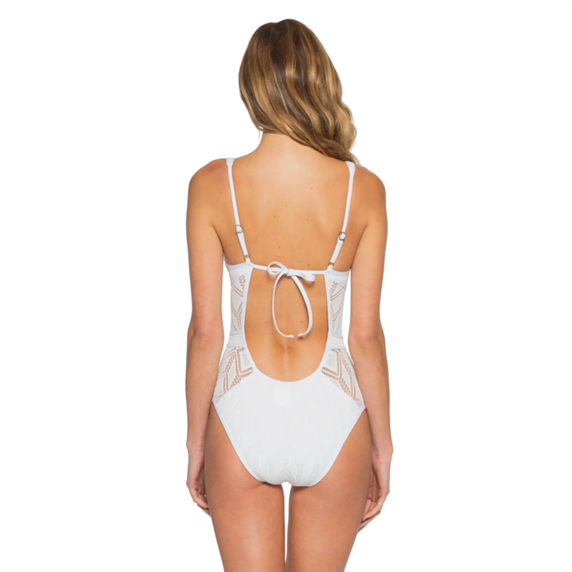 Plunge One Piece Becca by Virtue