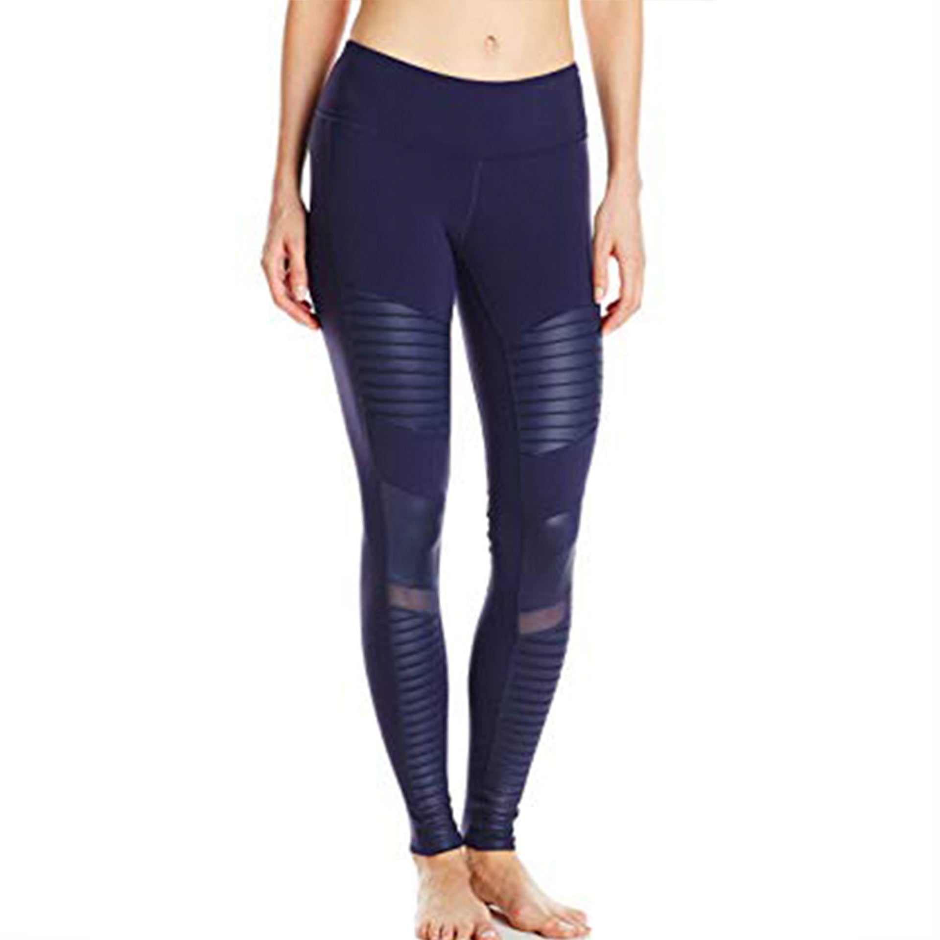 NEW ALO Yoga Moto Legging Rich Navy