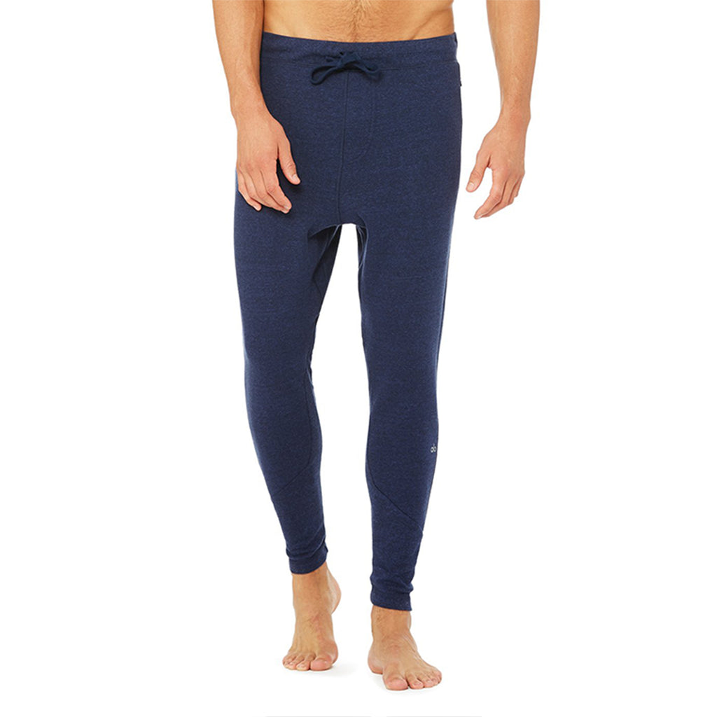 Alo Yoga Mens Triumph Sweatpant in Navy