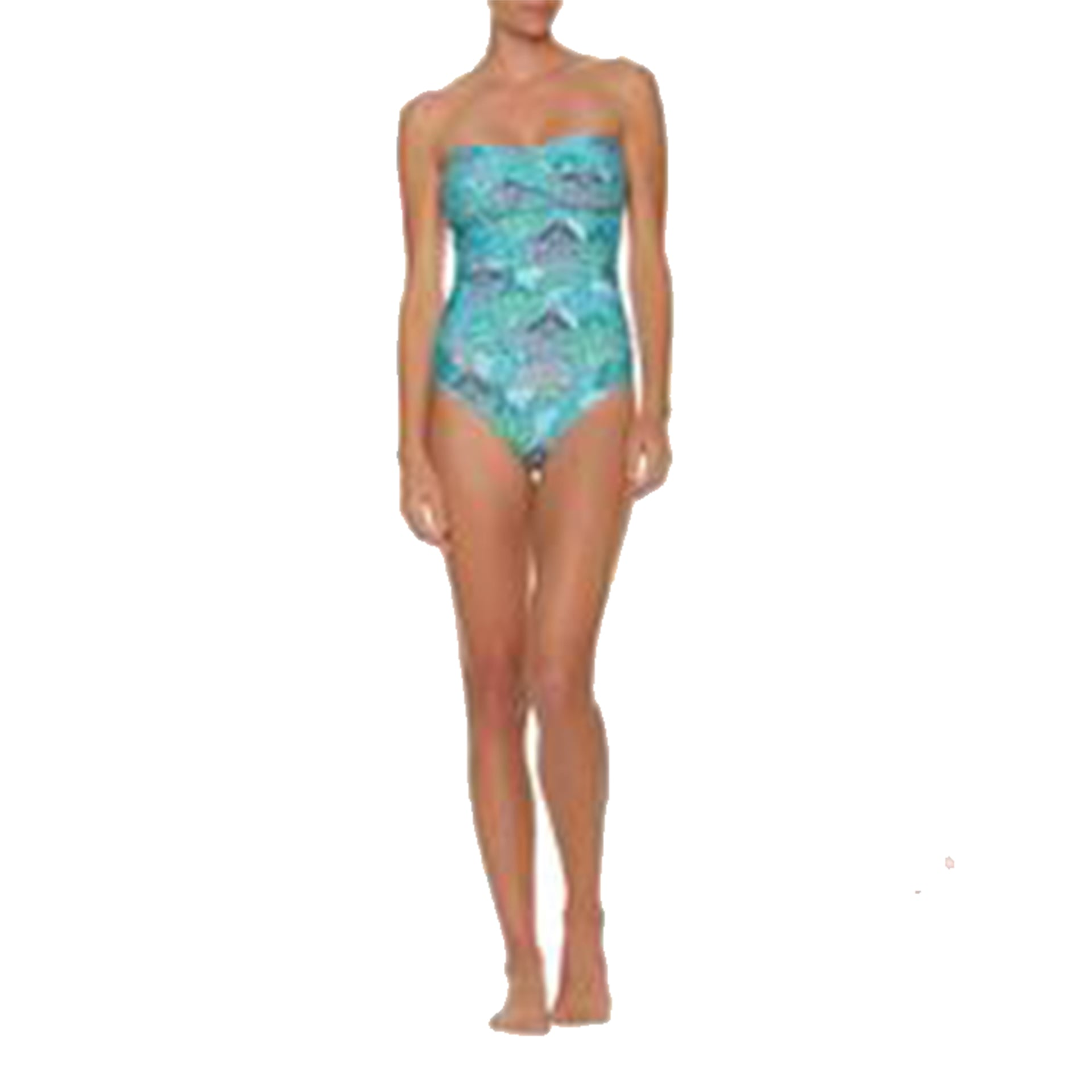Twist bandeau one-piece-dominica by Helen Jon