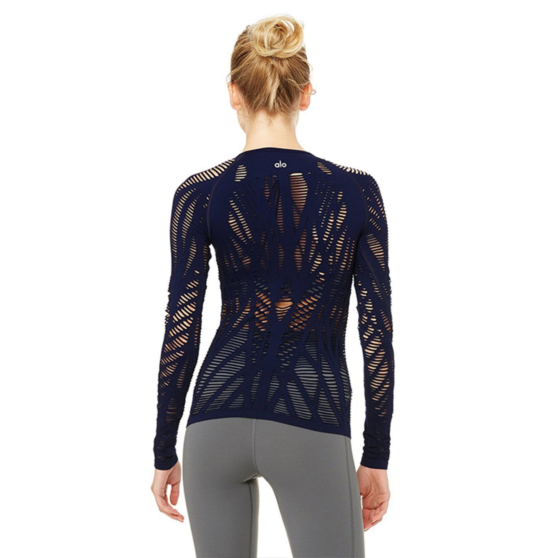 ALO Yoga Wanderer Long Sleeve in Navy