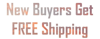 New Buyers Get Free Shipping