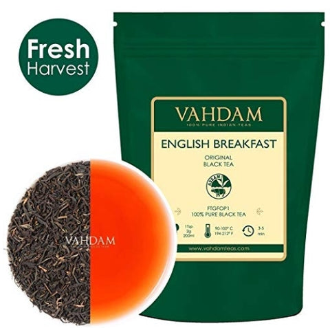 Vahdam English Breakfast Black Tea