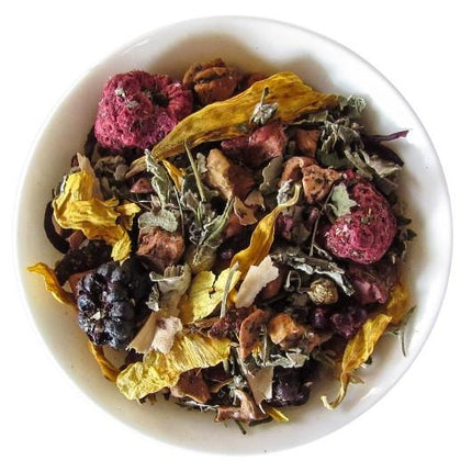 Wild Raspberry Mint Herbal Tea