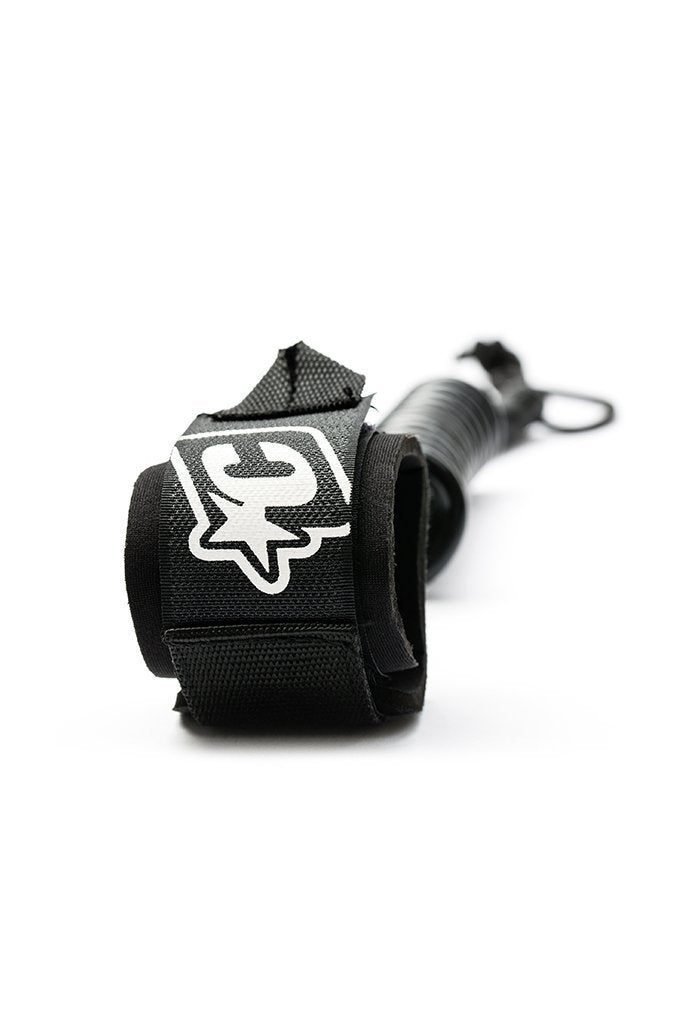 Creatures Of Leisure COILED BODYBOARD WRIST LEASH - BLACK Shop HERE